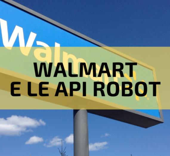 """Walmart cerca di brevettare le """"api robot"""""""