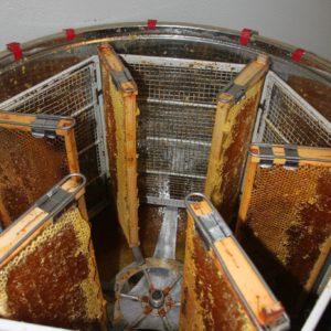 La disopercolatura dei telaini da miele.
