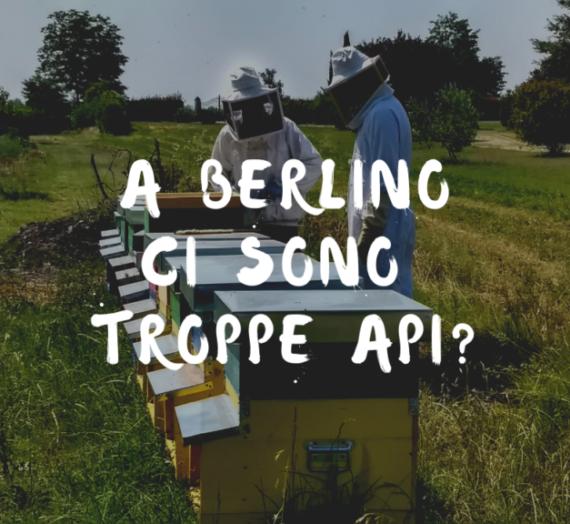 A Berlino ci sono TROPPE api?